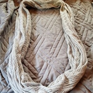 Gray Sparkly Scarf